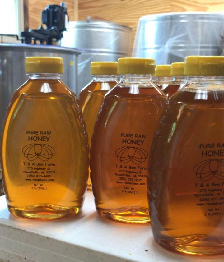 T And A Bee Farm Honey