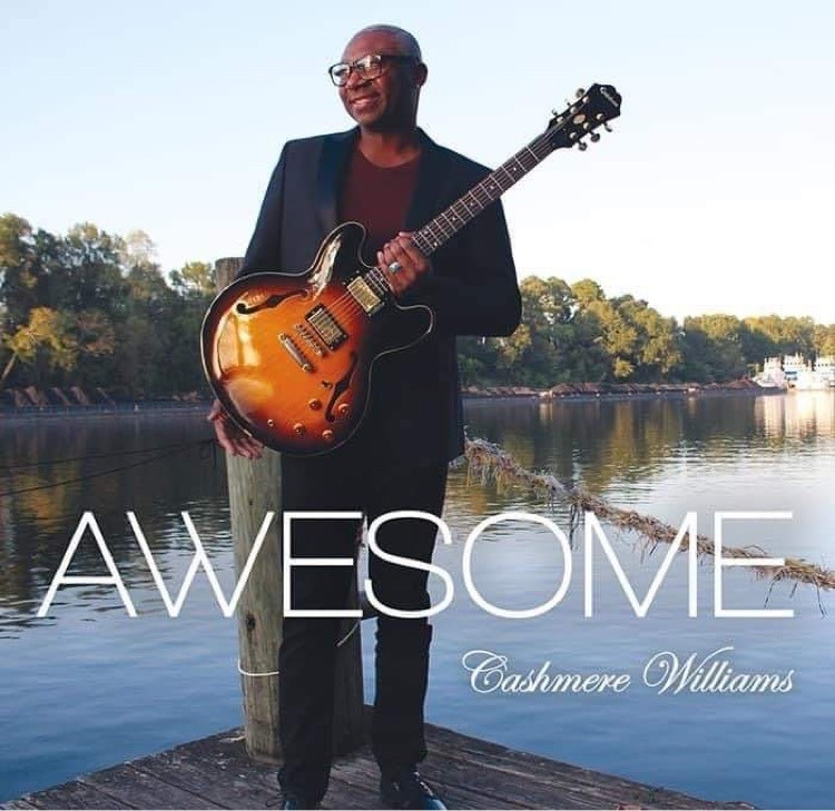 The Cover Of Cashmere Williams' Latest Album, &Quot;Awesome.&Quot; Photo Courtesy Of Cashmere Williams.