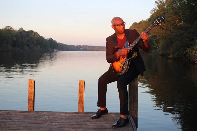 Cashmere Williams Plays Smooth And Soulful Gospel By The Black Warrior River. Photo Courtesy Of Cashmere Williams.