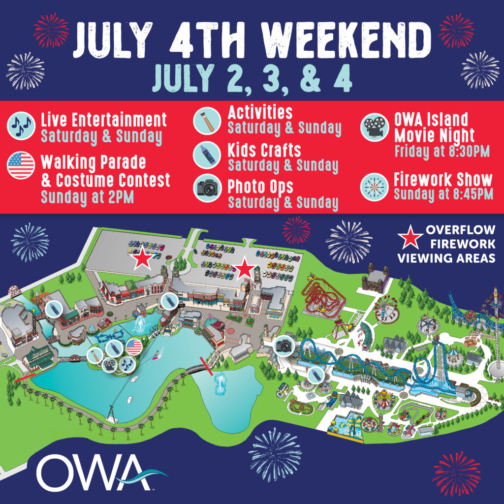 Owa 4Th Of July Poster