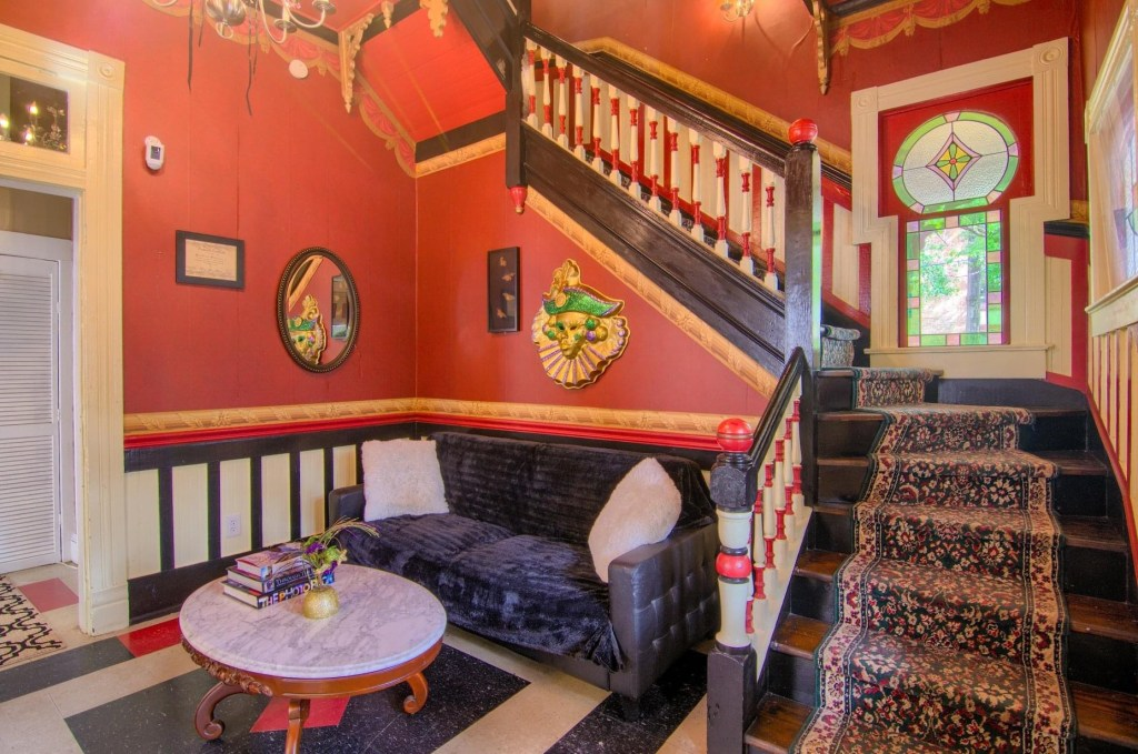 Parlor At The Mardi Gras House