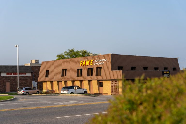 The Astonishing History behind Muscle Shoals' Fame Recording Studio