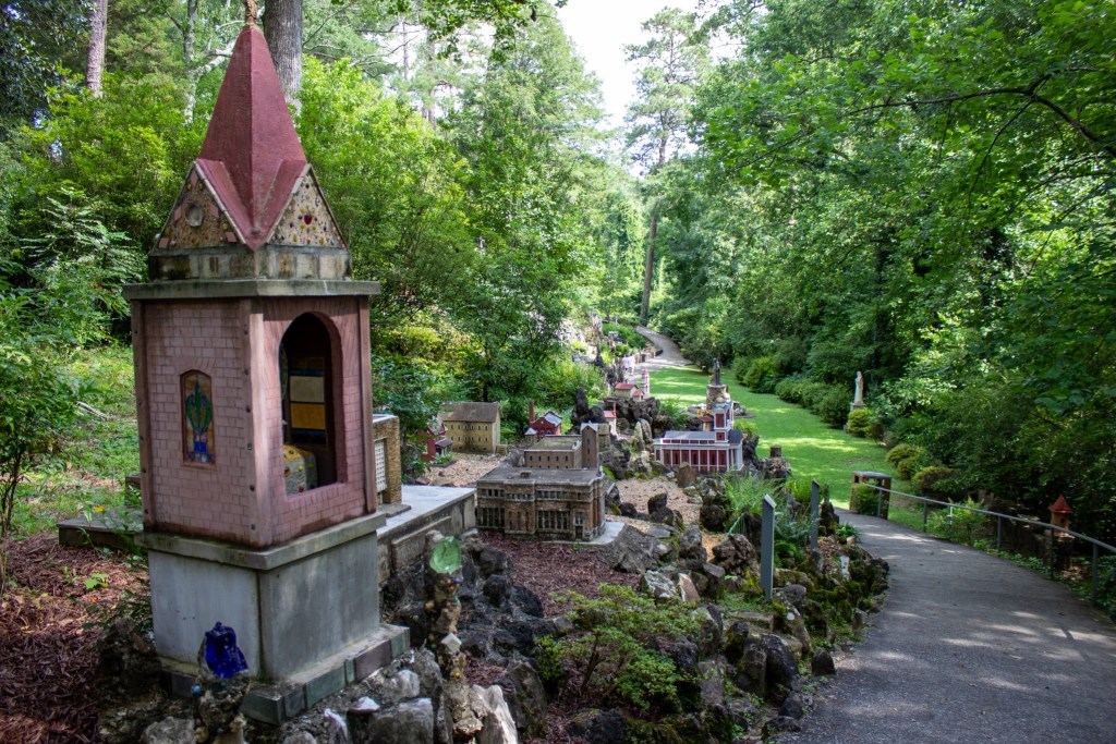 The Ave Maria Grotto Is So Beautiful And Peaceful. Photo By Libby Foster For The Bama Buzz.