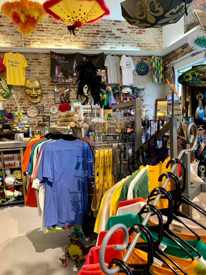 Inside Bienville Gift Shop