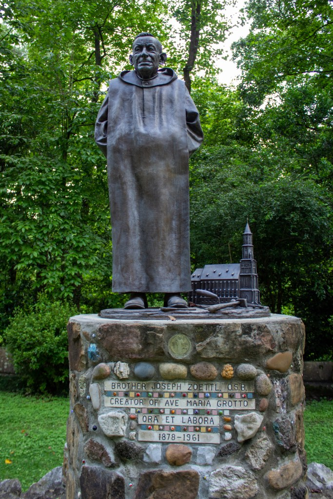 Brother Joseph Created Almost All Of The Ave Maria Grotto. Photo By Libby Foster For The Bama Buzz.