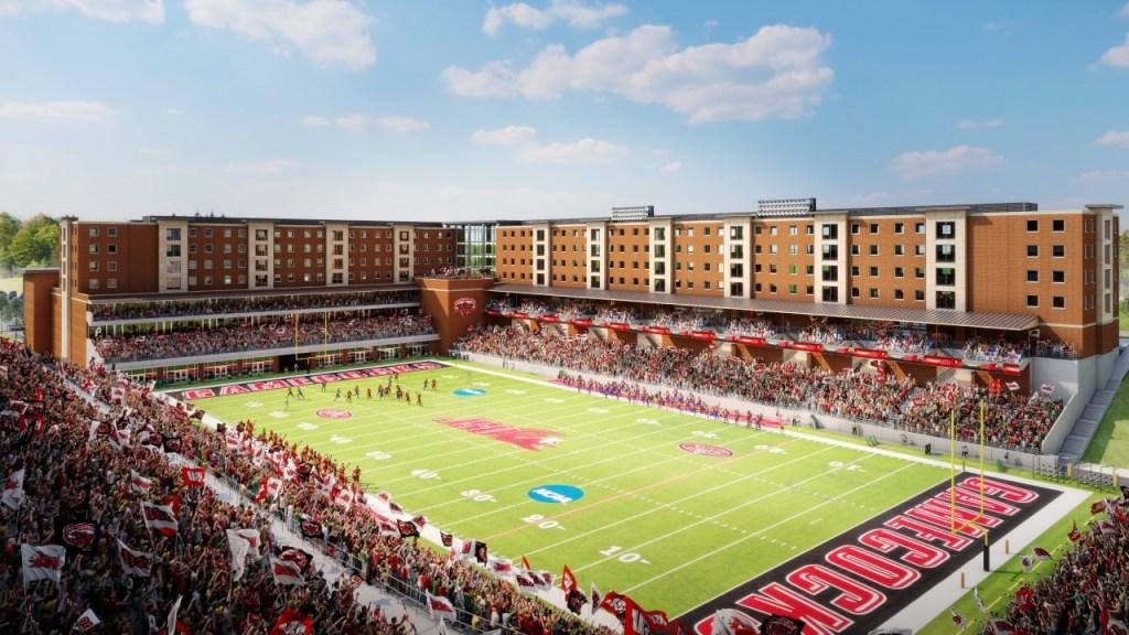 Jacksonville State University Is Building Dorms Around Its Football Stadium. How Cool! Photo Via Jsu