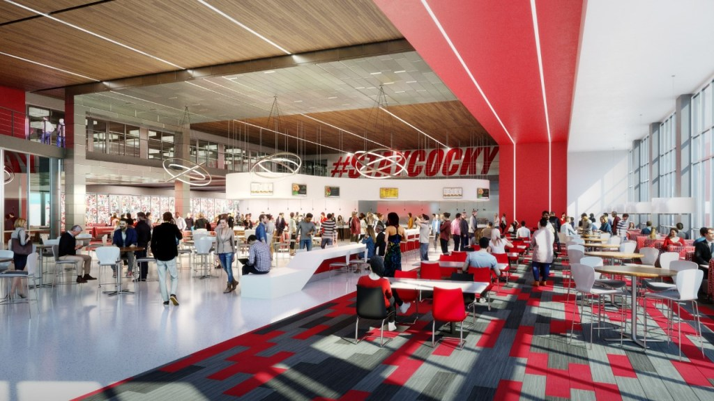 Jacksonville State University'S New Cafeteria Will Be State-Of-The-Art. Photo Via Jsu