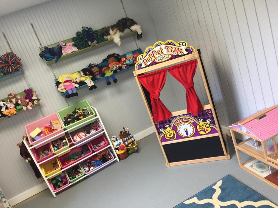 Children Play Area At Serenity Counseling
