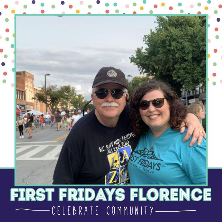 Community At First Fridays In Florence