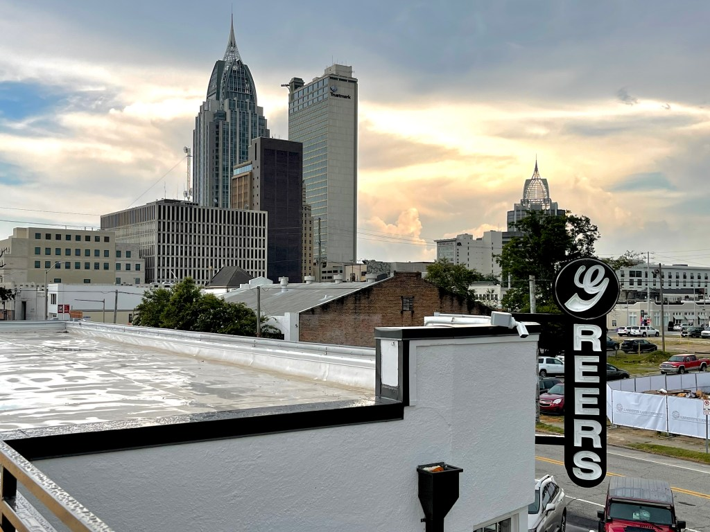 Mobile Skyline From The Roof Of Greer'S St. Louis Market