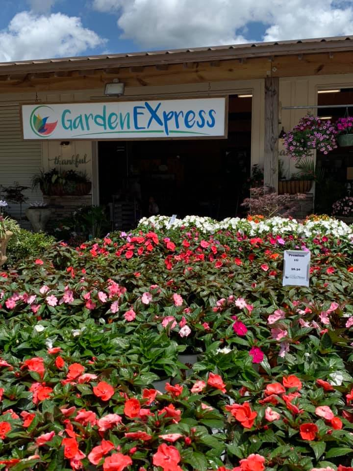 Front Of Stokley Garden Express