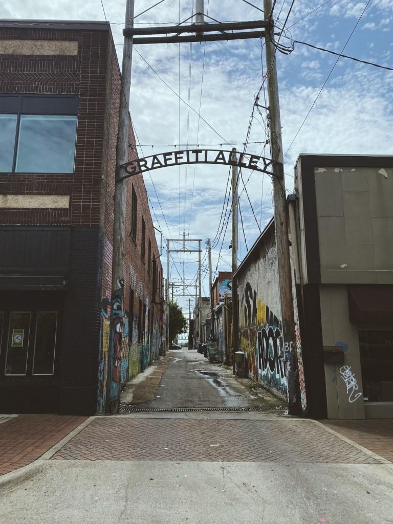 Entrace To Graffiti Alley