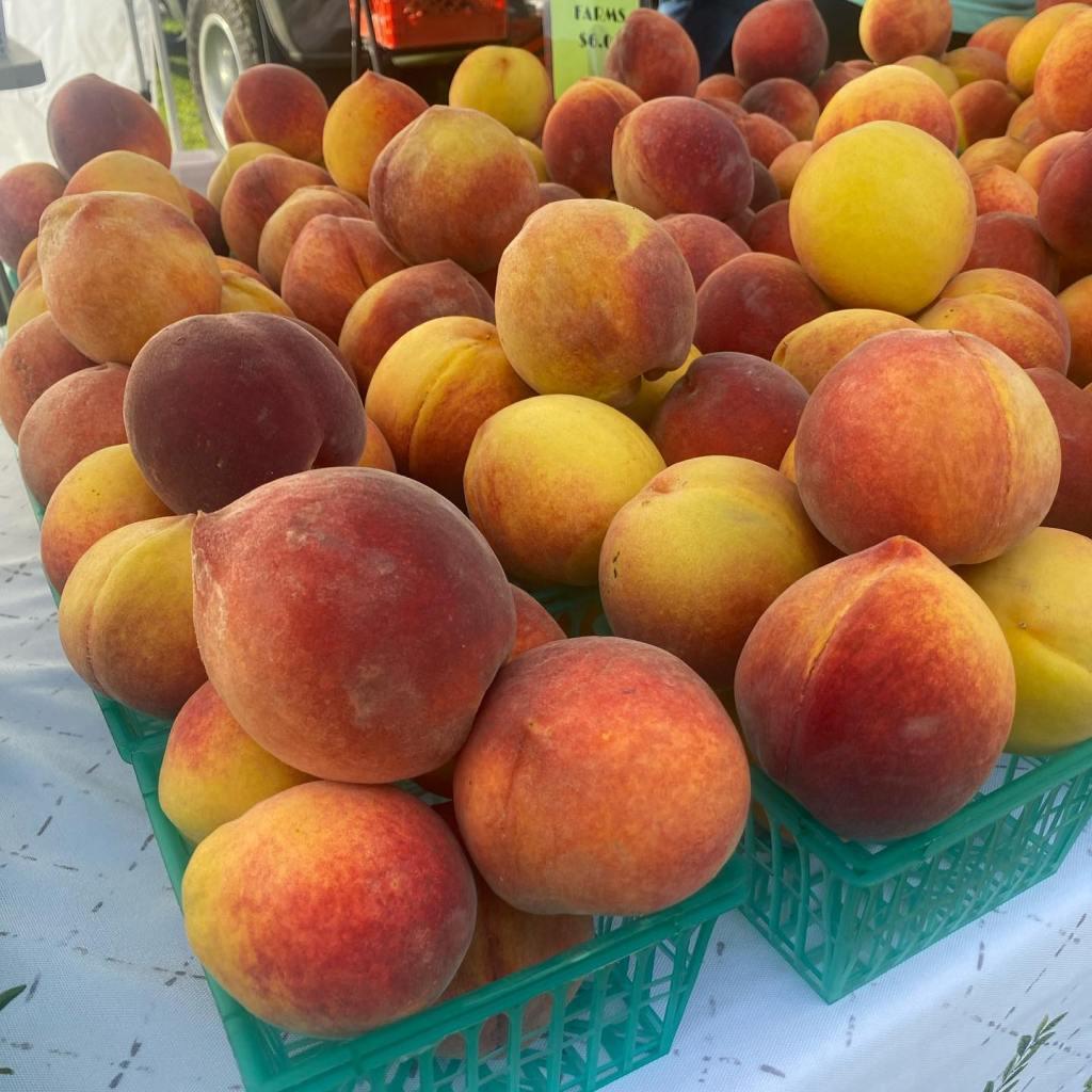 City Market Peaches