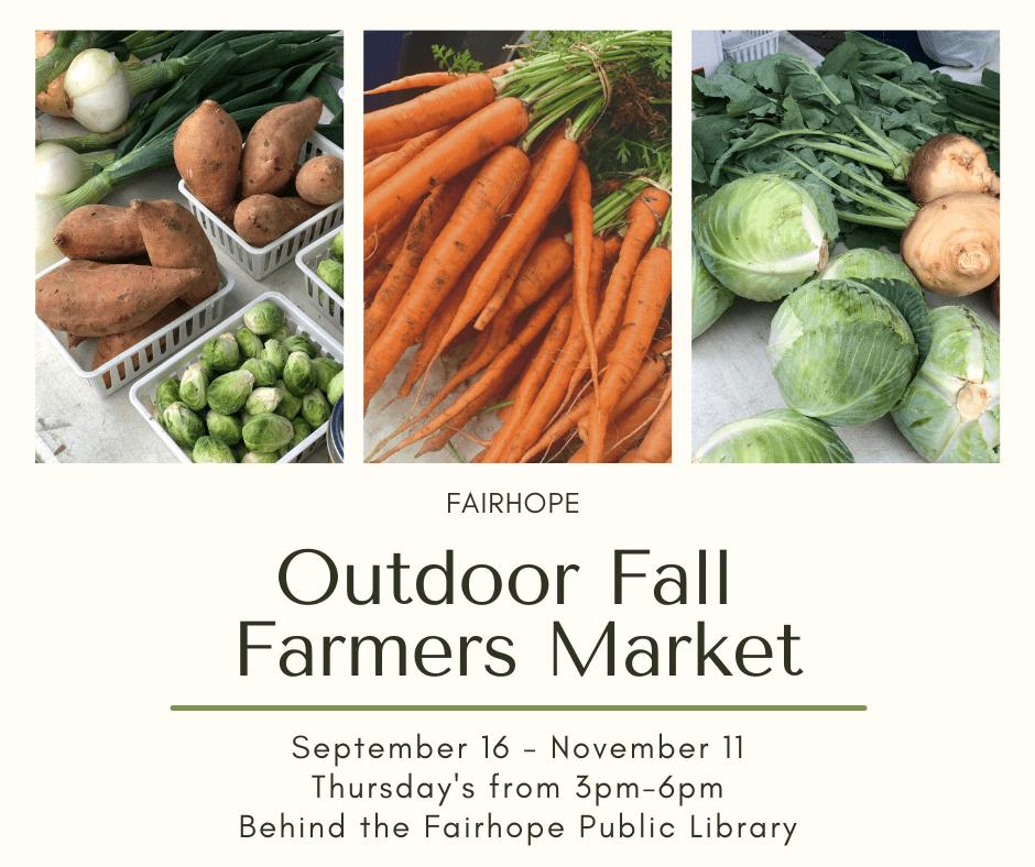 Fairhope Farmer'S Market Flyer