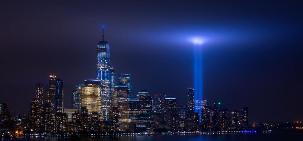 9/11 Light Memorial Image