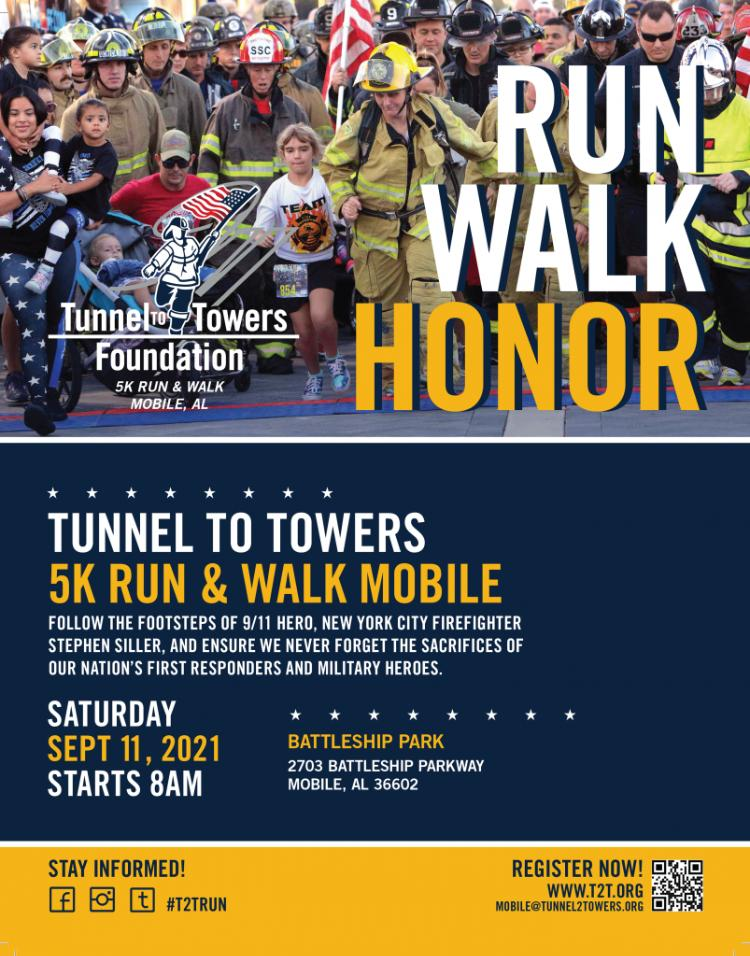 Flyer For 5K Tunnel To Towers