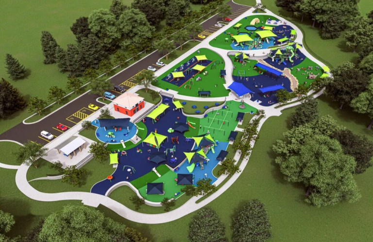 NEW DEBUT: Auburn's Town Creek Park is introducing brand new inclusive playground