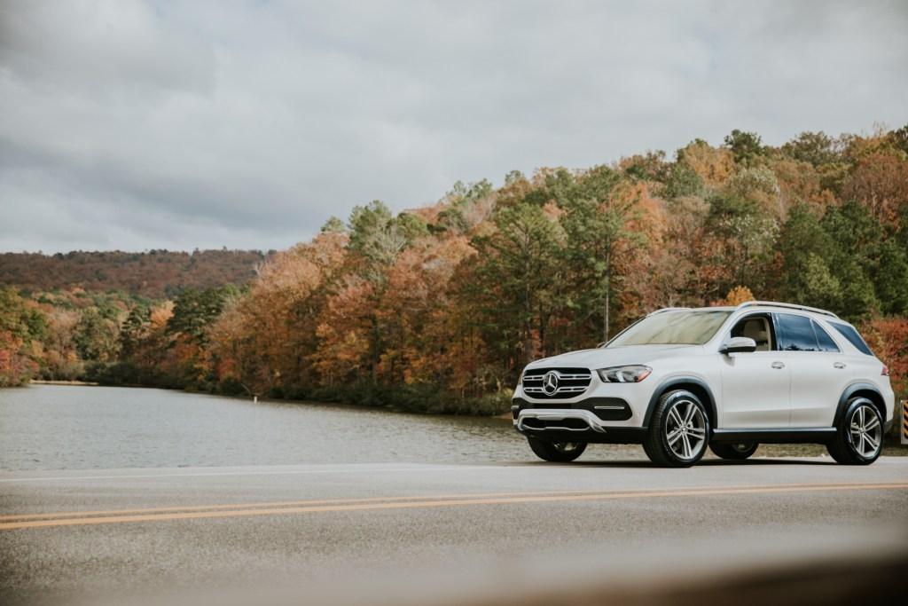 Driving Through Alabama In A Mercedes-Benz