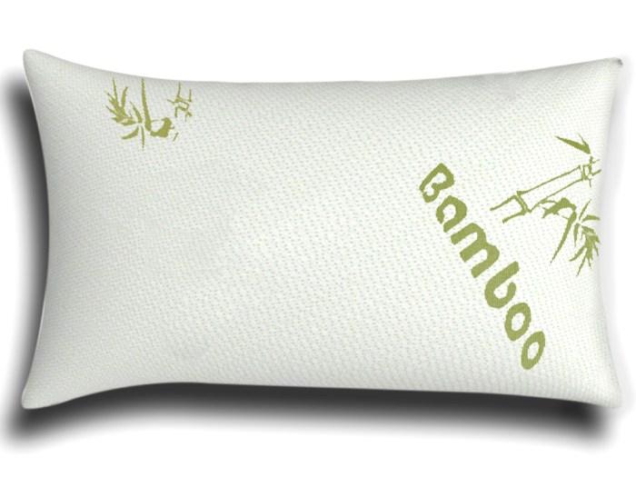 Bamboo Pillow Shredded Memory Foam Pillow