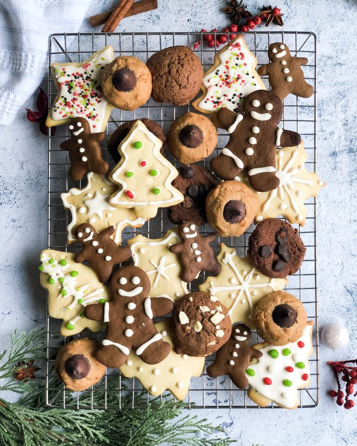25 Healthy Christmas Cookies The Banana Diaries