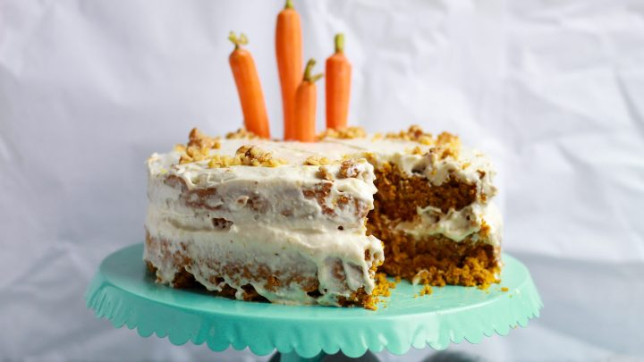 The easiest vegan carrot cake that is completely gluten free and refined sugar free! Incredibly moist, it's sure to be a crowd pleaser!