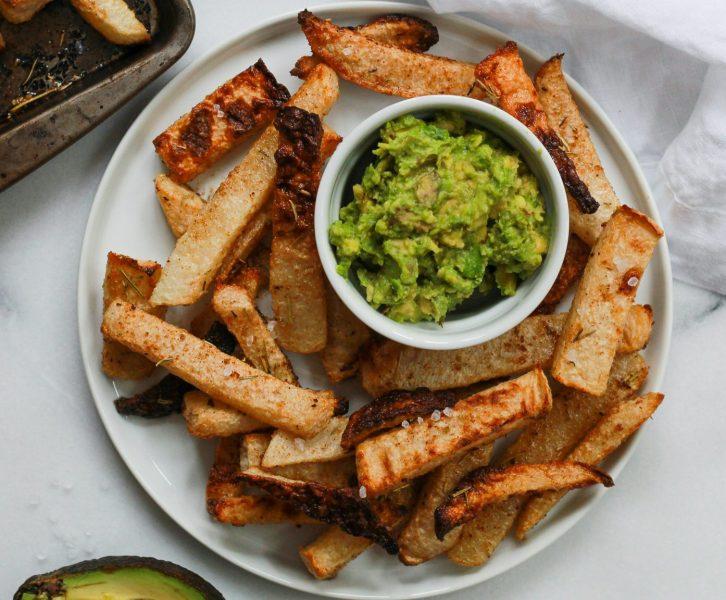 header for jicama fries