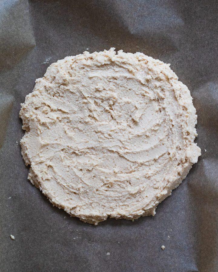 cassava flour cookie dough crust