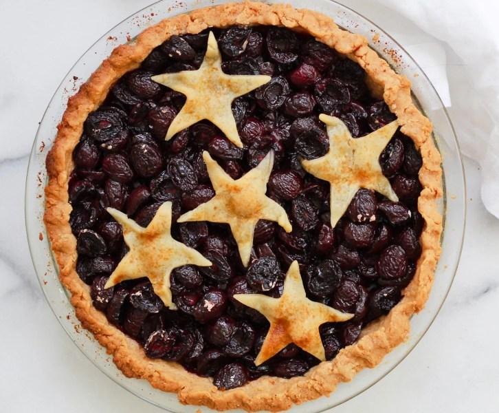 header for cherry pie
