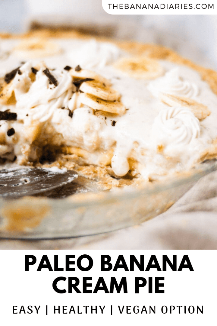 pinterest image for banana cream pie