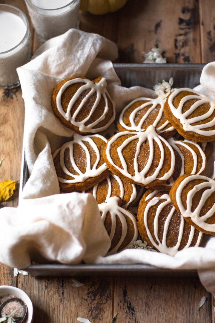 box of sugar cookies