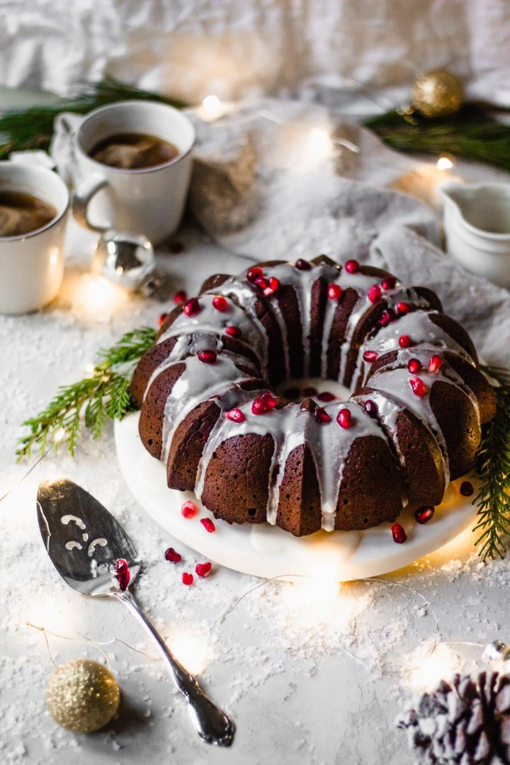 healthy vegan bundt cake