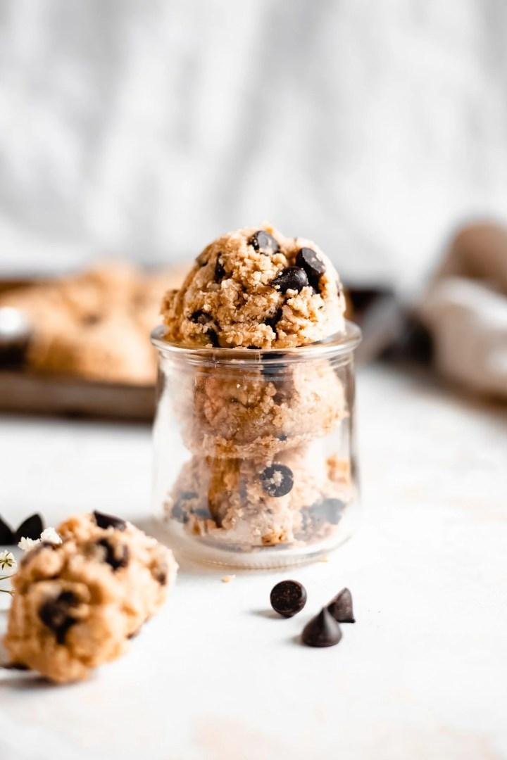 jar of cookie dough