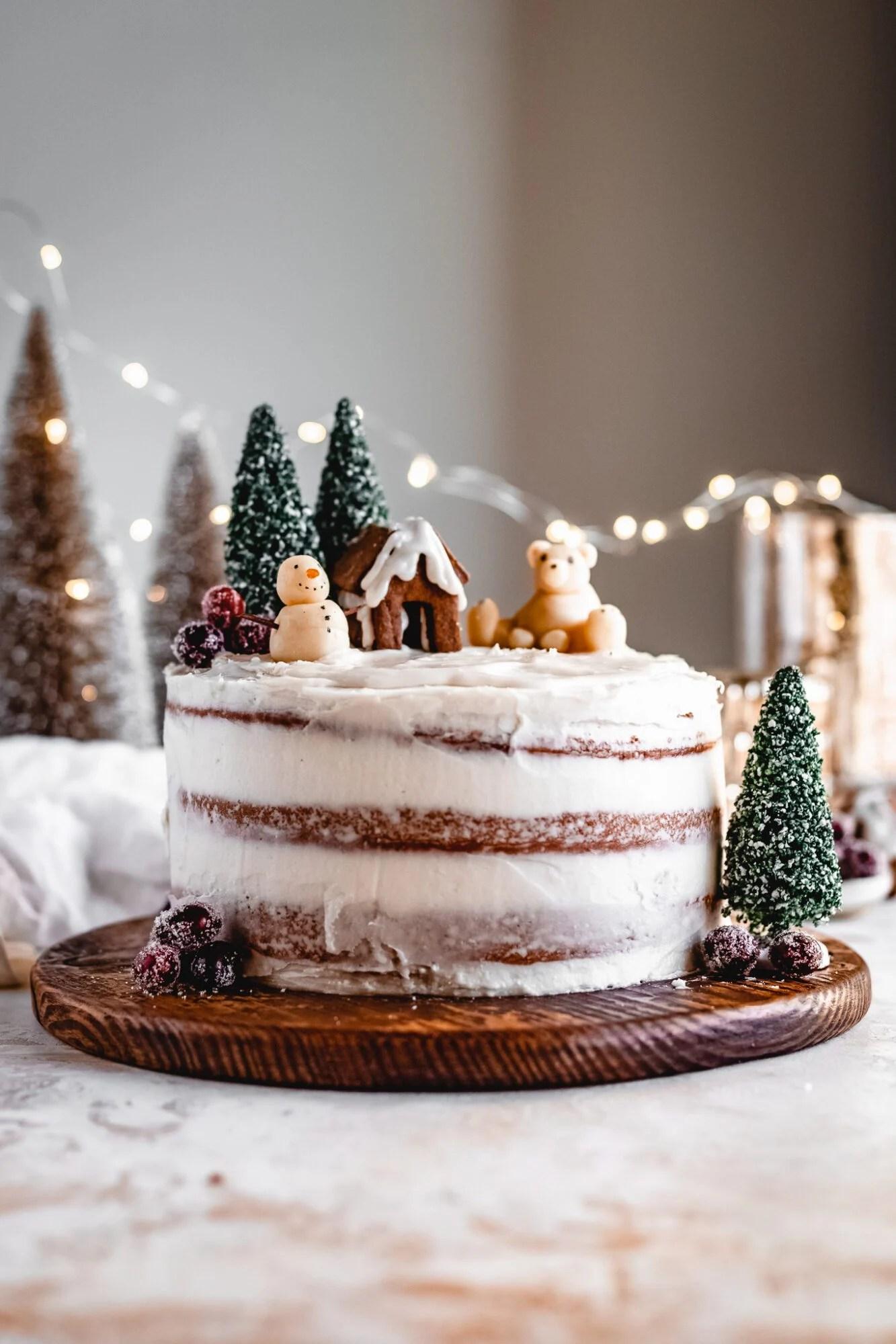 Vegan White Chocolate Cake