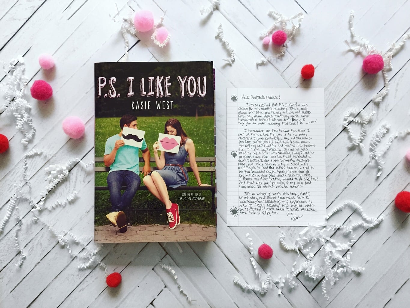 Book Review: PS I Like You + OwlCrate Unboxing