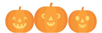 halloween bonanza pumpkins