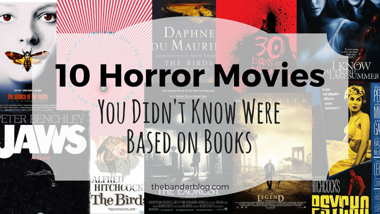 10 horror movies you didn't know were based on books