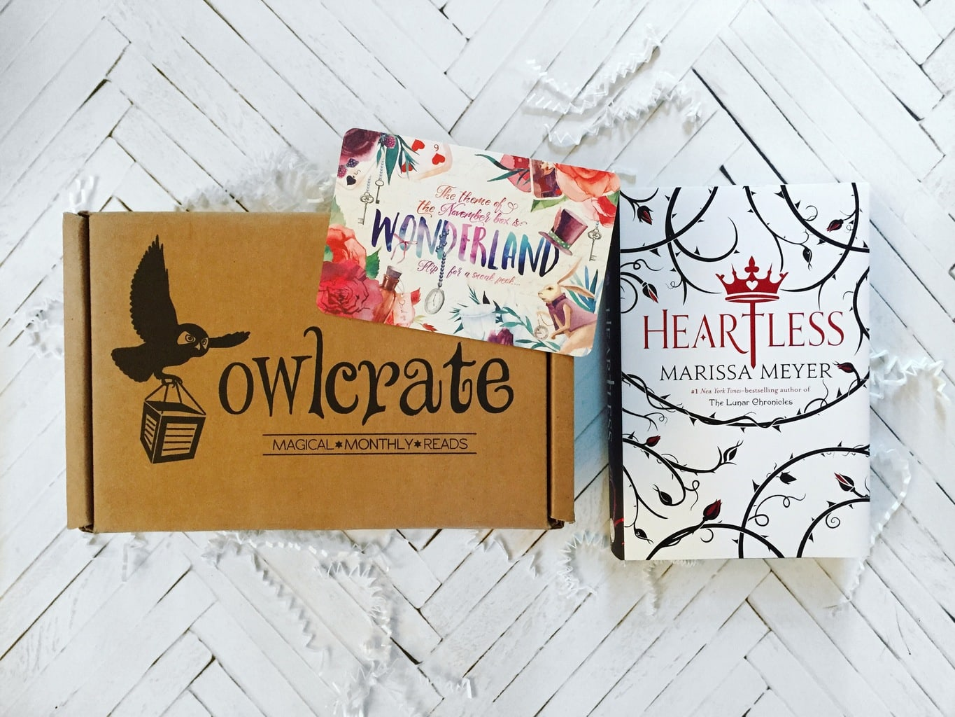 OwlCrate Unboxing + Heartless Review