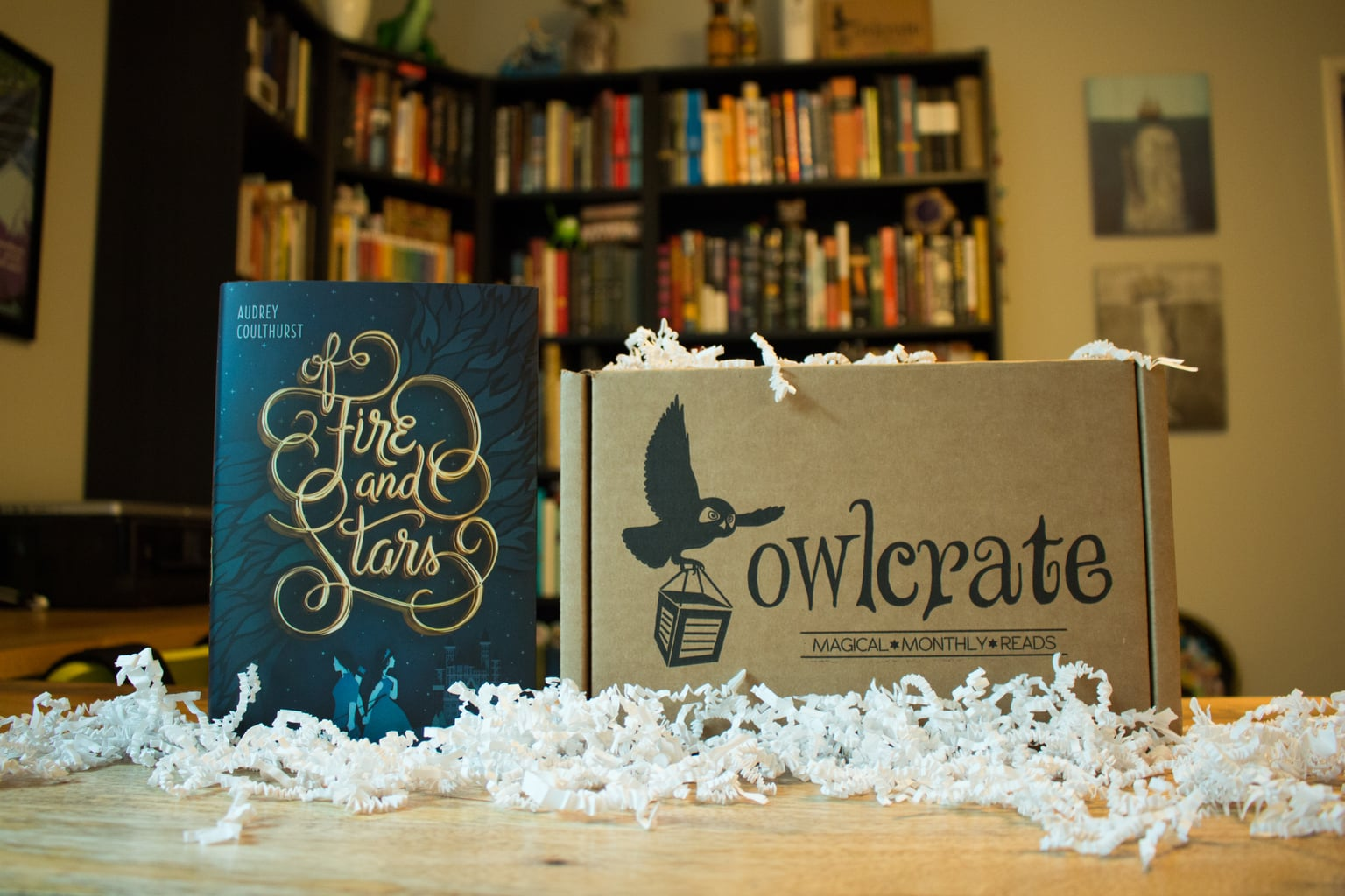 OwlCrate Unboxing + Of Fire and Stars Review