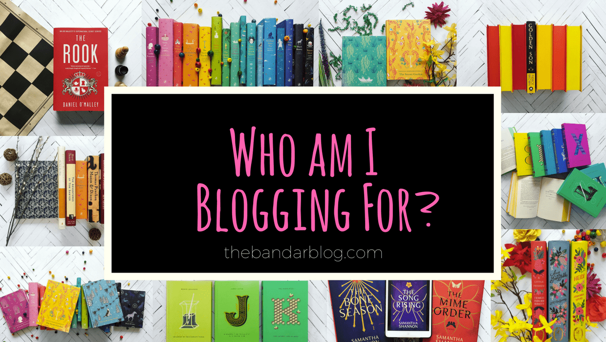 Who Am I Blogging For?