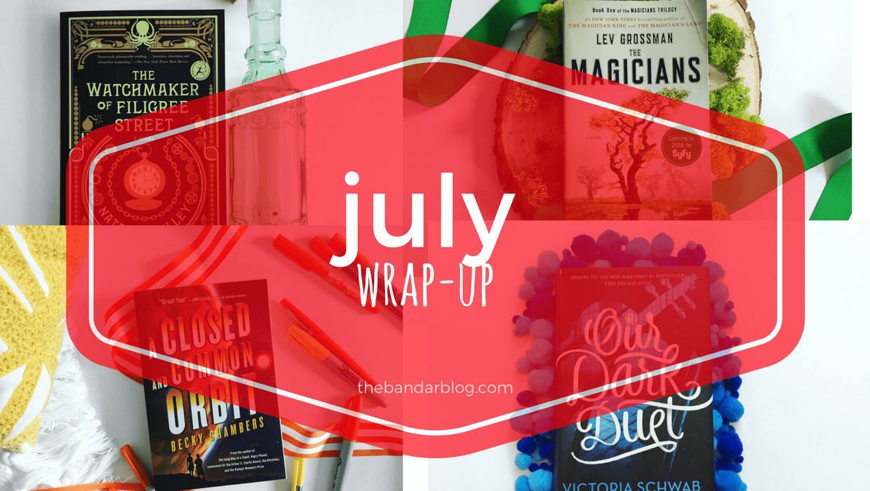 July Wrap-Up: Happy Birthday America (Also Can it be Halloween Please?)