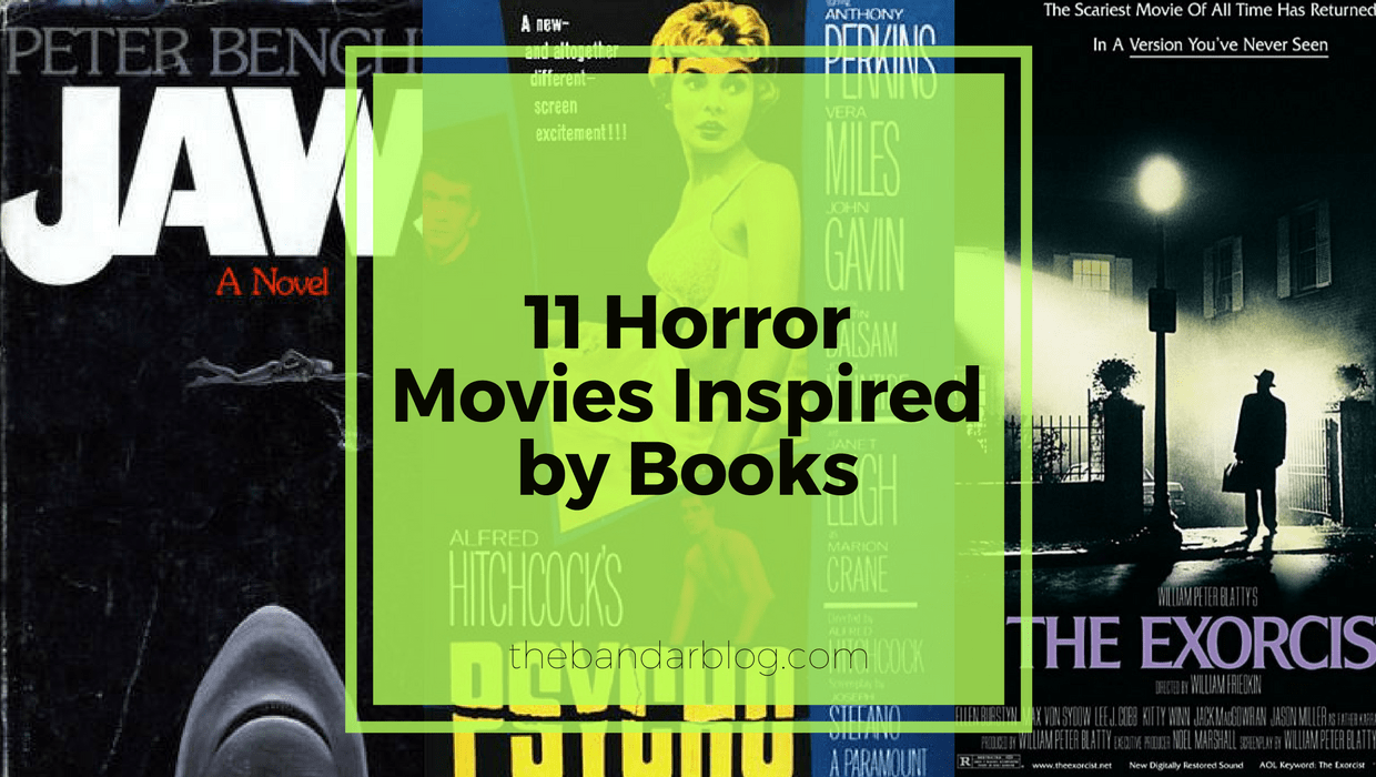 11 Horror Movies Inspired by Books