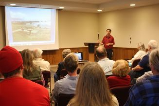 Tom Baake Speaks at the Bandon Public Library