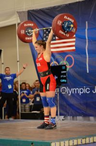 Mattie Rogers at USAW National University Championships