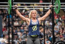 Sara Sigmundsdottir at The Athlete Games 2015.