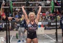 Sara Sigmundsdottir at The Athlete Games 2015.