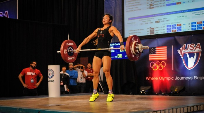 Charis Chan at the 2015 USAW American Open
