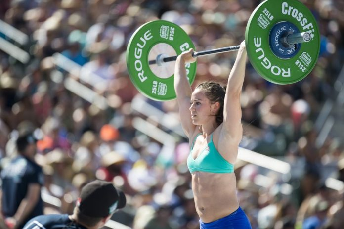 Camille Leblanc-Bazinet at the 2016 CrossFit Games
