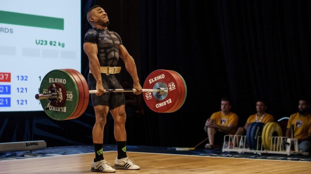 Derrick Johnson at 2016 USAW National Championships