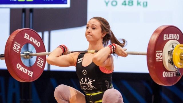 Hayley Reichardt at 2016 National Championship