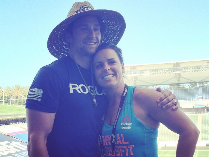 Nick and Jen (Cadmus) Zambruno at 2015 CrossFit Games